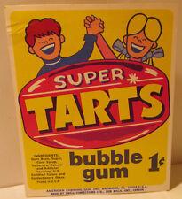 Super Tarts Bubble Gum '60s Vending Machine Card