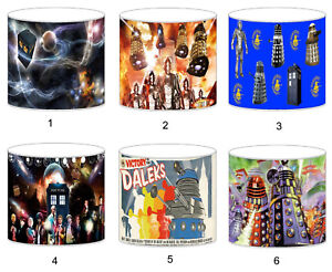 Dr Who Daleks  Lampshade Ideal To Match Bedding Duvets Curtains Cushion Covers