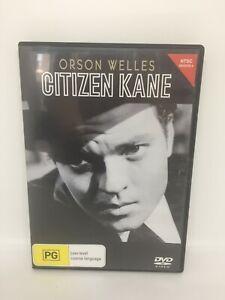 CITIZEN KANE DVD Region 4 Movie Very Good Condition FREE SHIPPING