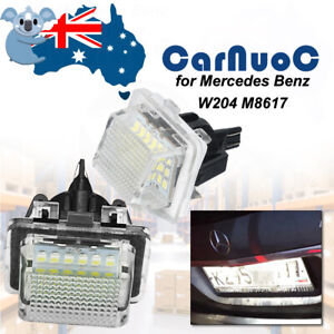 LED Number License Plate Lights For Mercedes-Benz C-Class W204 S-Class W212 W221
