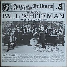 """THE FAMOUS PAUL WHITEMAN """"JAZZ A LA KING"""" N°3  33T  2LP"""