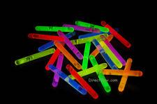 """1.5"""" inch Assorted Mini Glow Sticks- 24 Piece"""