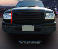 For 04-05 Ford Ranger Black Billet Grille Grill Upper Insert 1 PC Fedar