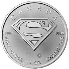 2016 Superman Coin 1 Oz Silver .9999 BU