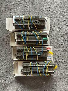 Märklin 24997 C-Gleis 4 x Entkupplungsgleise elektrisch, Länge 94,2 mm TOP + OVP