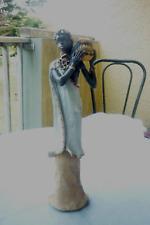 figurinne africaine en résine superbe