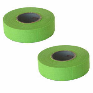 Proguard Elite Multi-Sport Cloth Tape - 1 Inch by 20 Yards - 2 Pack - Neon Green