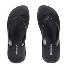 Men's Diesel Splish Plaja Black Flip Flops Beach Sandals Various Sizes BNWT