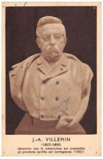 CPA FIGURANT J.A.VILLEMIN TUBERCULOSE (santé medecine