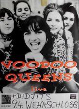 Voodoo QUEENS - 1994 Concert Poster-Chocolate Revenge-TOUR POSTER-Bremen