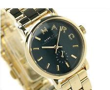 Women's Gold-tone Marc Jacobs Baker Mini Steel Watch MBM3249