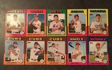 2016 Topps Mini Online Exclusive 1975 Set - 1000 Made Kris Bryant & More