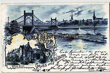 Vor 1914 Ansichtskarten aus Nordrhein-Westfalen für Architektur/Bauwerk und Brücke