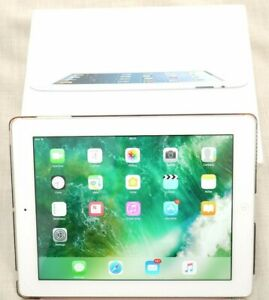 Apple iPad 4th Gen. 16GB, Wi-Fi, 9.7in - White - Used - Good condition - Boxed