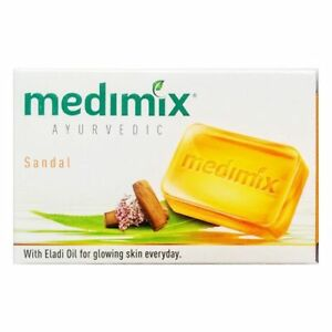 12 bars-Medimix-sandal Soap-125gm- FREE SHIPPING