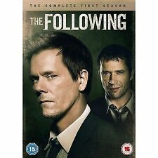 The Following: The Complete First Season DVD (2013) Kevin Bacon
