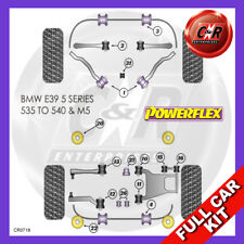 BMW E39 5 Series 535-540 96-04 Rr Subframe Bushes MSport Susp Powerflex Full Kit