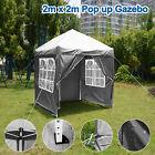3x3/4/6M Waterproof Pop Up Gazebo Marquee Canopy Party Tent Outdoor Garden UK