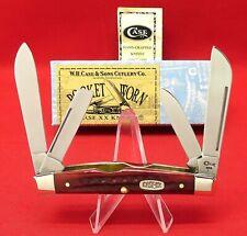 Case XX 64052 SS Old Red Bone 1999 Congress, Mint Knife Original Box Item #00789