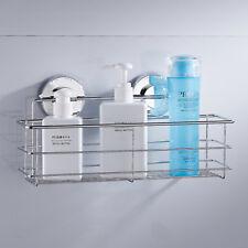 Bathroom Shower Caddy Organizer Storage Rack Shelf Basket Holder Stainless Steel