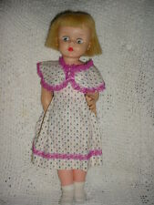 "14""-T14-Horsman Horseman Ruthie-Sleep-shut eye-Bonde Hair-Pretty-Dress-Clothes"