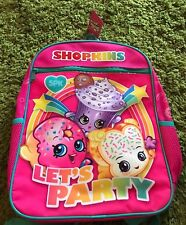 New Shopkins Let's Party D'Lish Donut Creamy Cookie Cupcake Backpack Primary