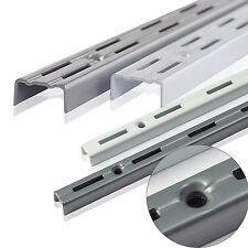 2 x Wandschiene für Regalträger Regalwinkel Regalhalter Regalboden Regalsystem