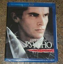 New Factory-Sealed American Psycho Uncut Version Blu-Ray Christian Bale