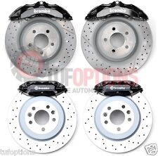 BLACK Ford FPV RSPEC Brembo FG 6 Piston FRONT & 4 Piston REAR Caliper & Disc Set