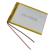 3.7V 2500 mAh Polymer rechargeable Li battery For PDA GPS DVD Tablet PC 3070100