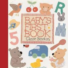 Baby's First Book-ExLibrary