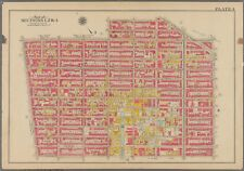 1908 SOUTH BROOKLYN BOERUM HILL NY PS 15 & 32 ST. FRANCIS R.C. COLLEGE ATLAS MAP