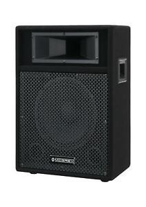 "DJ PA Lautsprecher Disco Bass Party Box 25cm (10"") Speaker 2-Wege System 200W"
