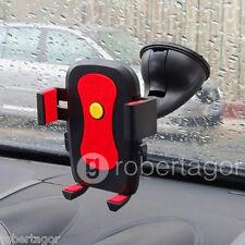 SUPPORTO AUTO MORBIDO IPHONE SAMSUNG GPS CELLULARI IPOD MP4 UNIVERSALE VENTOSA