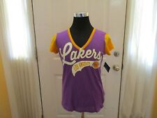 Brand New w/Tags Women's Los Angeles Lakers Size Large G-III V-Neck Shirt. Sharp