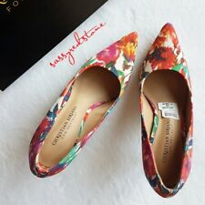 CHRISTIAN SIRIANO FOR PAYLESS FLORAL SHOES - SIZE 7
