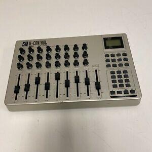 Evolution U-Control UC-33 USB & MIDI Mixer DAW Controller UNIT ONLY TESTED