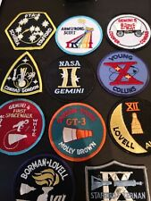 NASA Gemini Astronaut Patch  Armstrong Aldrin spacewalk Kennedy Space Center