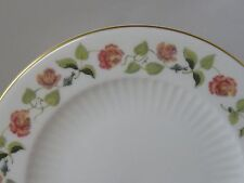 """Wedgwood Bone China India Rose Bread & Butter Plate 6"""" Made In England 1964-1968"""