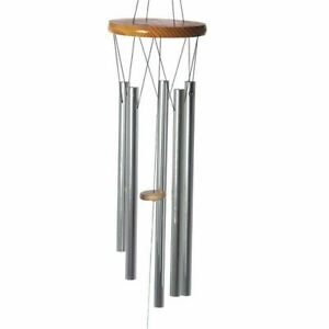 Decorative Metal Garden Wind Chime Mobile 77cm Balcony Fence Porch Gift