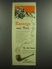 1953 Barneys Tobacco Ad - Everest 1953 Barneys was there