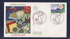 enveloppe 1er jour  région  Haute Normandie  Rouen      1978