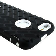 For iPhone 6S/6 Shockproof Impact Rugged Heavy Duty Case+Tempered Glass Screen