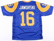 Ron Jaworski Signed Rams Jersey (JSA COA) Jaws / The Polish Rifle