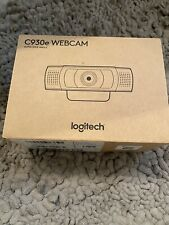 Logitech C930e ultra wide angle Webcam, NEW in Box