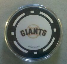 San Francisco Giants - Texas Hold em Poker Chip Card Guard Protector NEW