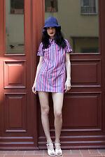 Veb minijupes rosswein Dederon robe Mini-robe Dress rda 70er true vintage 70s