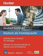 Spanische Sprachkurs-Bücher für Anfänger (A2)