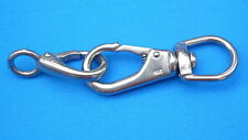 Flag Fixing Swivel Clips stainless steel two piece