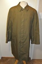 Vintage Courier Lord ForeCaster Overcoat Mens sz. 40 R Made in USA